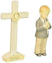 Enesco Foundations Communion Boy Set with Cross Figurine, 4-1/2-Inch image 4