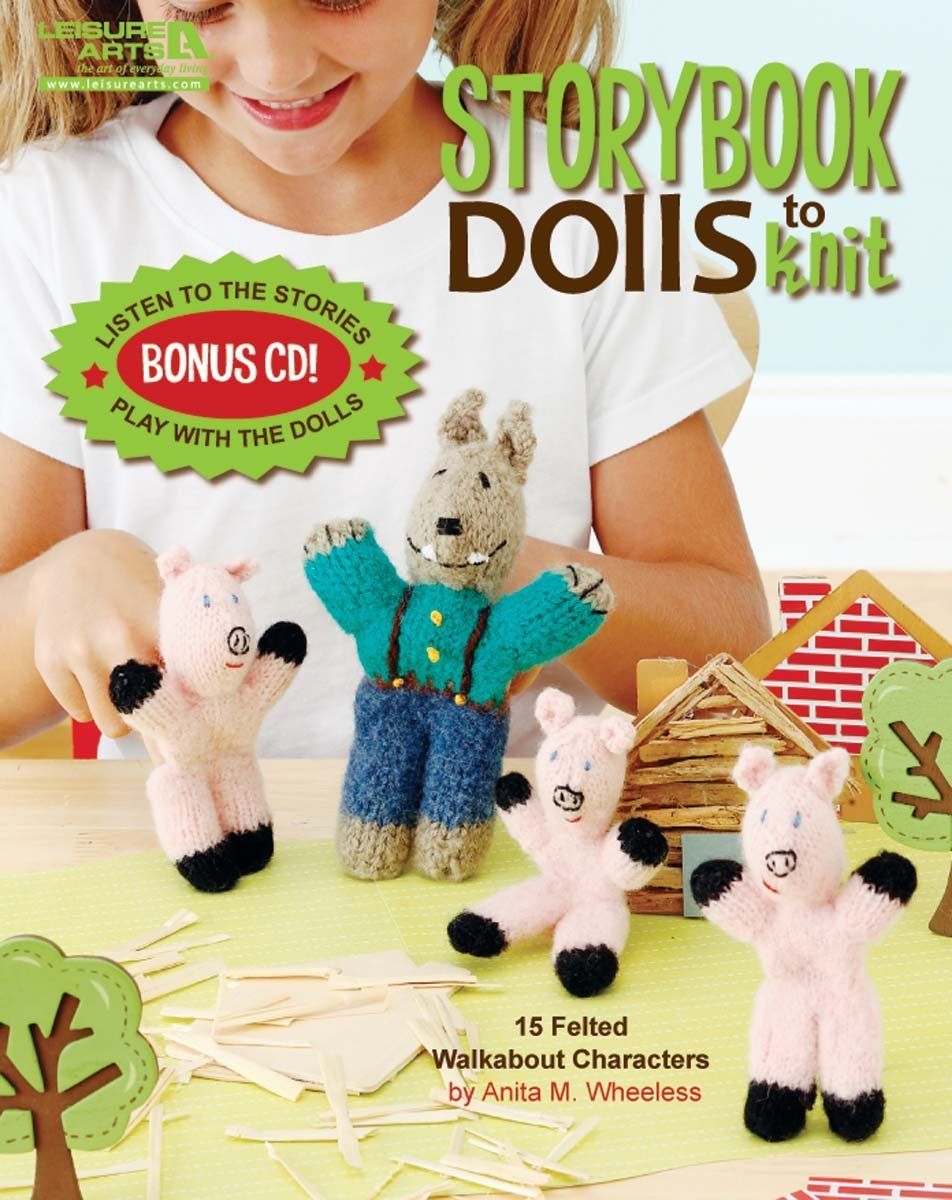 Leisure Arts Storybook Dolls To Knit