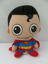 "Big Head Plush Superman Six Flags 11"" Stuffed Toy - $8.27"
