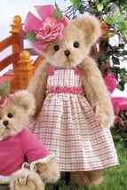 "Bearington Bears ""Mackenzie Ann"" 14"" Collector Bear- Sku #143210 - 2011 - $39.99"