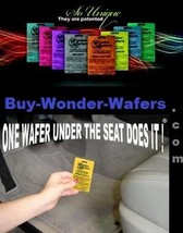 24~ Wonder Wafers~2 Dozen 19 Scents to Choose INDIVIDUALLY WRAPPED Air F... - $8.87