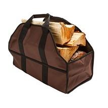 Firewood Log Carrier Durable Heavy Duty Canvas Firewood Tote Bag Firepla... - $29.67