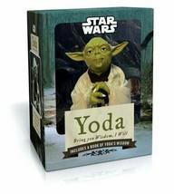 Star Wars Yoda: Bring You Wisdom, I Will. Figurine, Cards Inspirational Booklet