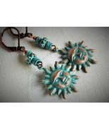 Patina Sunrise Bohemian Style Earrings - $20.00