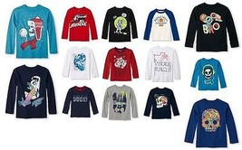The Childrens Place Boys T-Shirt Long Sleeve Various Sz NWT - $12.99