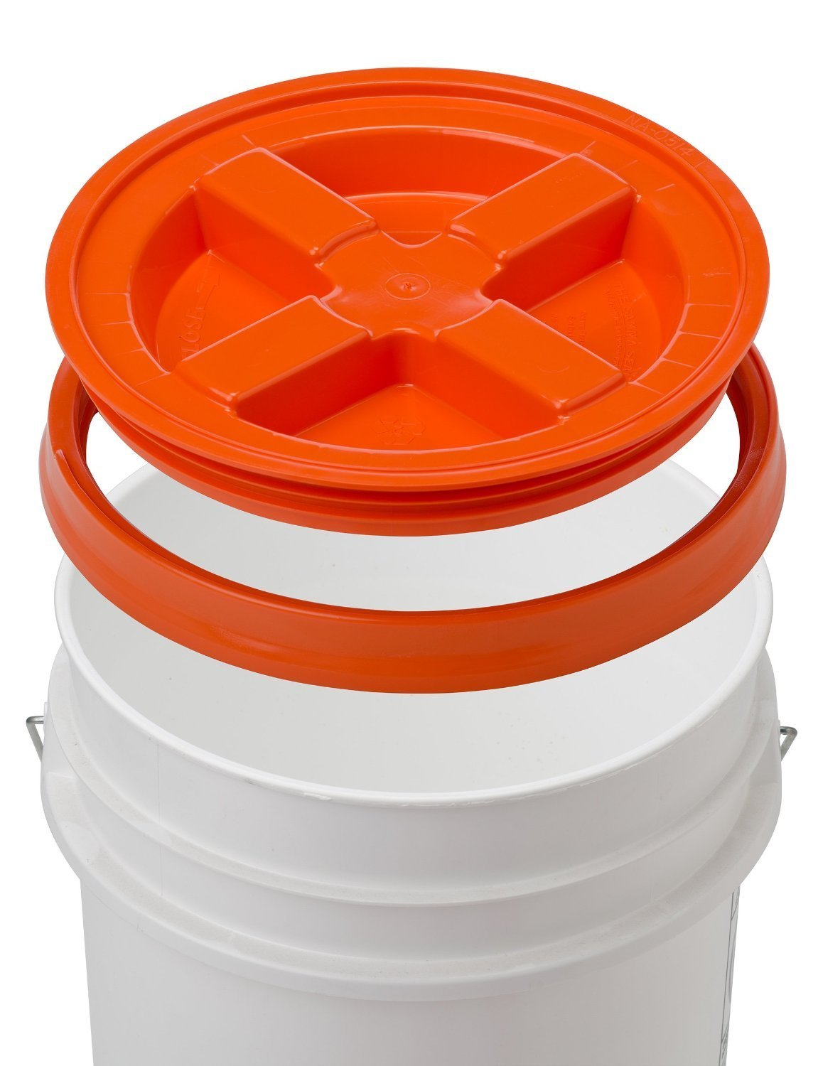 5 Gallon White Bucket Amp Gamma Seal Lid Food Grade