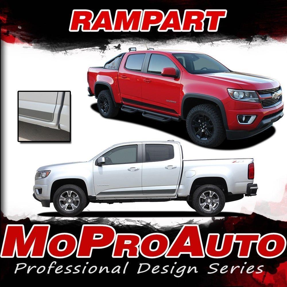 7 Best Chevy Colorado 2016 2017 Vinyl Graphics Stripes: 2016 Chevy Colorado RAMPART Lower Rocker Panel Vinyl
