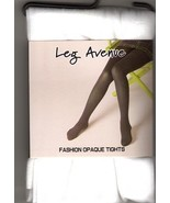 TIGHTS WHITE OPAQUE ADULT ONE SIZE - $6.00