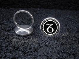 Choose Your Astrological Astrology Sign 925 Sterling Silver Adjustable Ring - $39.00