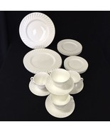 20 pcs. Royal Doulton 'Cascade' Bone China England Plates Cups & Saucers - $159.99