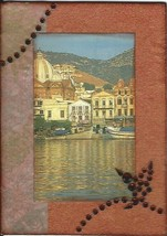 ACEO ATC Art Card Collage Original Greek Isles ... - $5.00