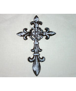 Country Rustic Brown Wrought Iron with White Accent - $15.98