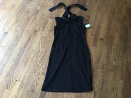 NWT LIZ CLAIBORNE Womens Professional Classy Party Halter Stretch Black ... - $37.39