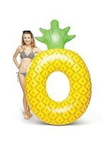 Inflatable Pool Float Swimming Raft Floating Lounge Giant Lounger Beach ... - $36.99