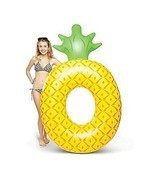 Inflatable Pool Float Swimming Raft Floating Lounge Giant Lounger Beach ... - €31,85 EUR