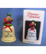 Precious Memories NIB Handcrafted Porcelain Holiday Bell - $7.95