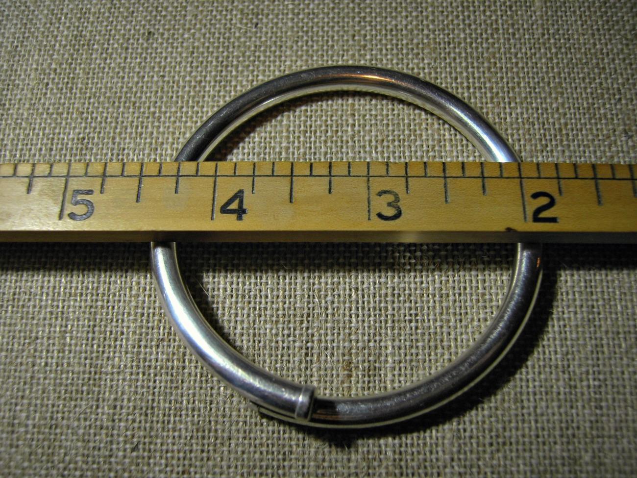 Ed Levin Flex Bangle Bracelet Bypass Bangle Sterling