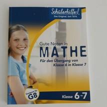 Schuelerhilfe - Gute Noten in Mathe / von der 6. in die 7. Klasse - in D... - $9.95