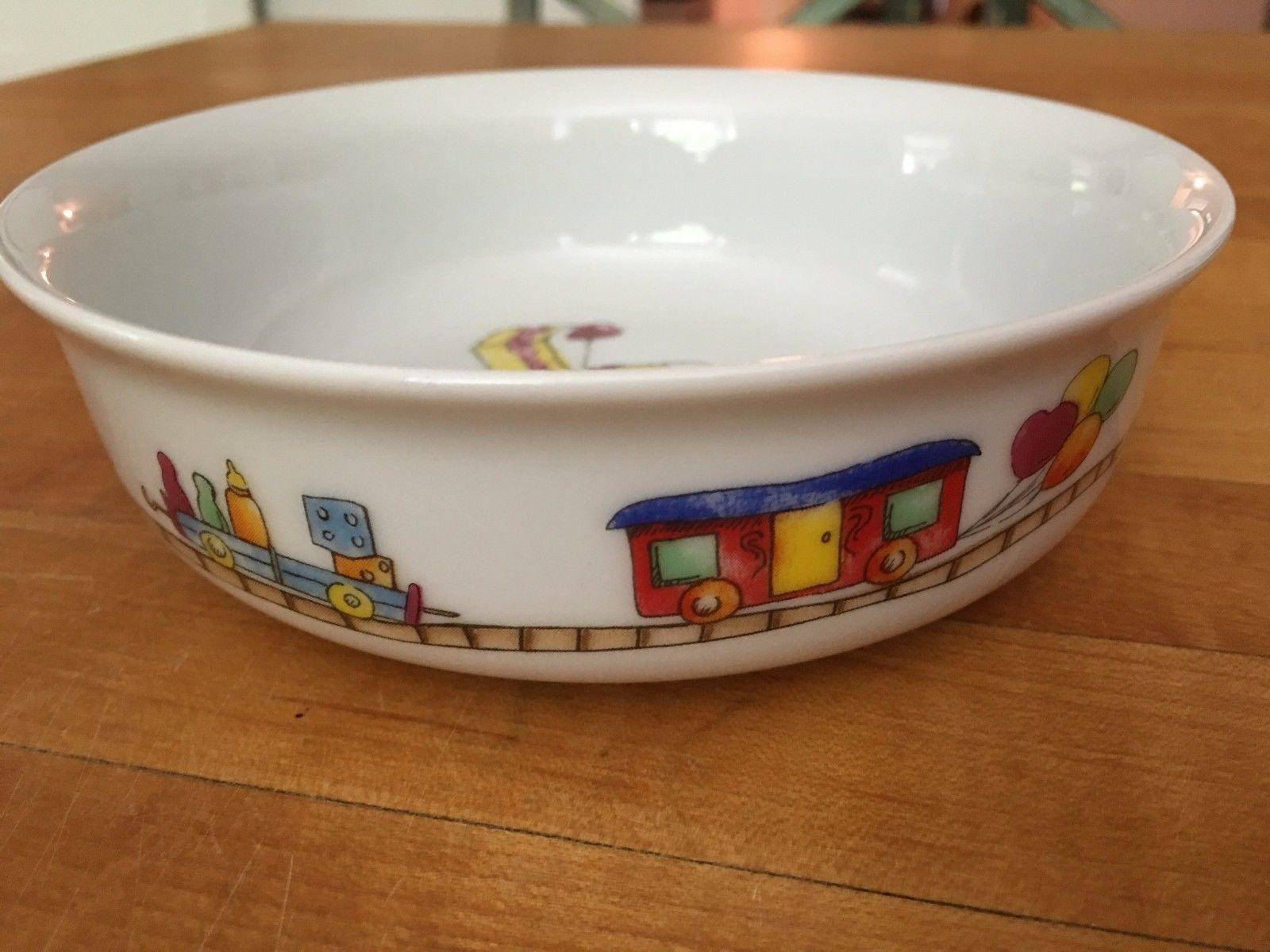 Birthday Bowl: Vardem Childrens Glass Pottery Birthday Bowl And 50