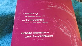 Debussy And Schumann Piano Duo Record Album - $3.59
