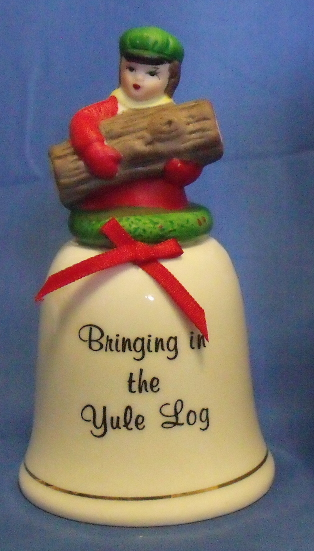 Precious Memories NIB Handcrafted Porcelain Holiday Bell