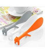 1PC Random Color Cute Stick Rice Paddle Meal Spoon - $5.20