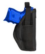 Barsony OWB Gun Belt Holster for Kel-Tec, Kimber Compact, Sub-Comp 9mm 4... - $19.99