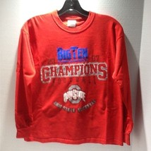 OHIO STATE BUCKEYES 2007 BIG TEN CONFERENCE CHAMPIONS  LONG SLEEVE T-SHI... - €4,42 EUR
