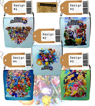 Super Smash Bros. Messenger Bag (Custom NINTENDO 3DS/WII U game theme) - $32.99
