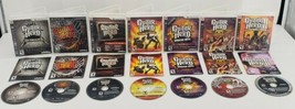 Playstation 3 Guitar Hero Game Collection with Manuals - $93.46
