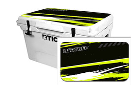 "RTIC Wrap ""Fits Old Mold"" 65qt Cooler 24mil Lid Kit RZR SxS Lime Squeeze - $36.95"