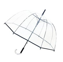 SMATI Stick Automatic Clear Stars Umbrella - Birdcage Dome See ThroughTr... - $33.67