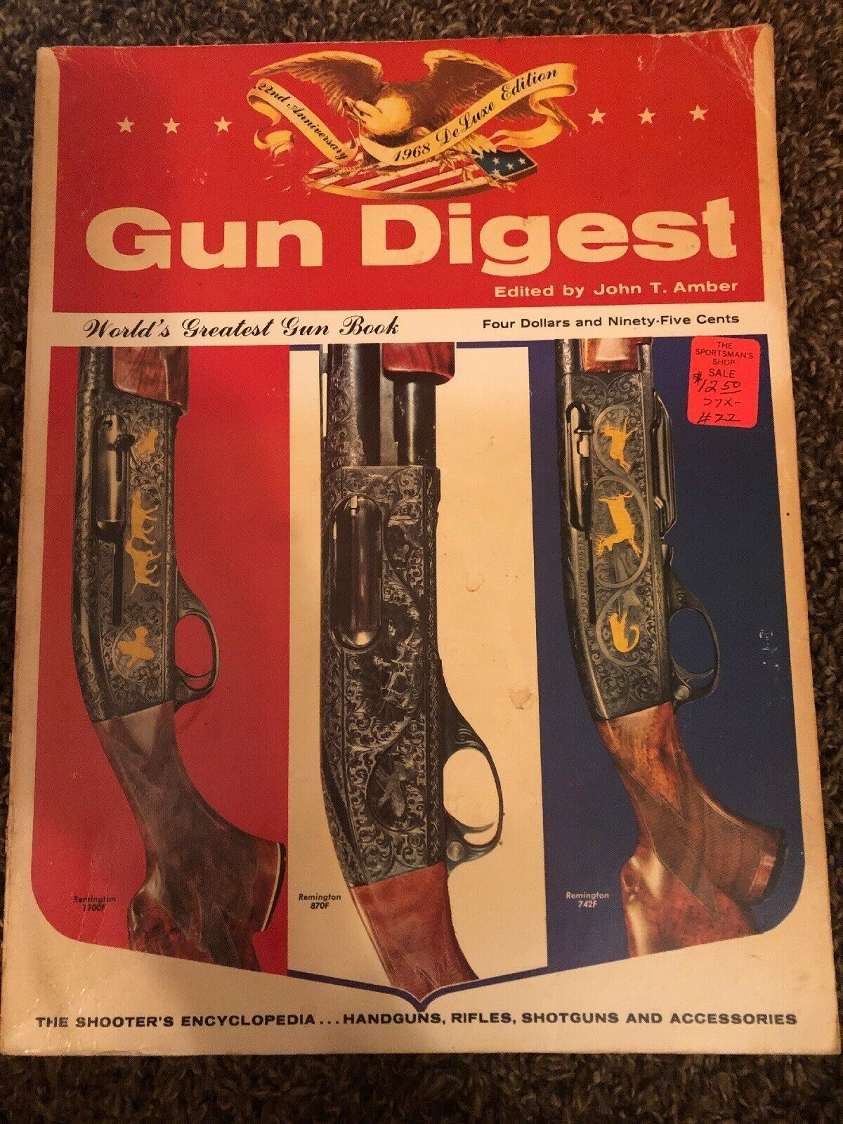 Primary image for GUN DIGEST 1968 DE LUXE EDITION- (Paperback)