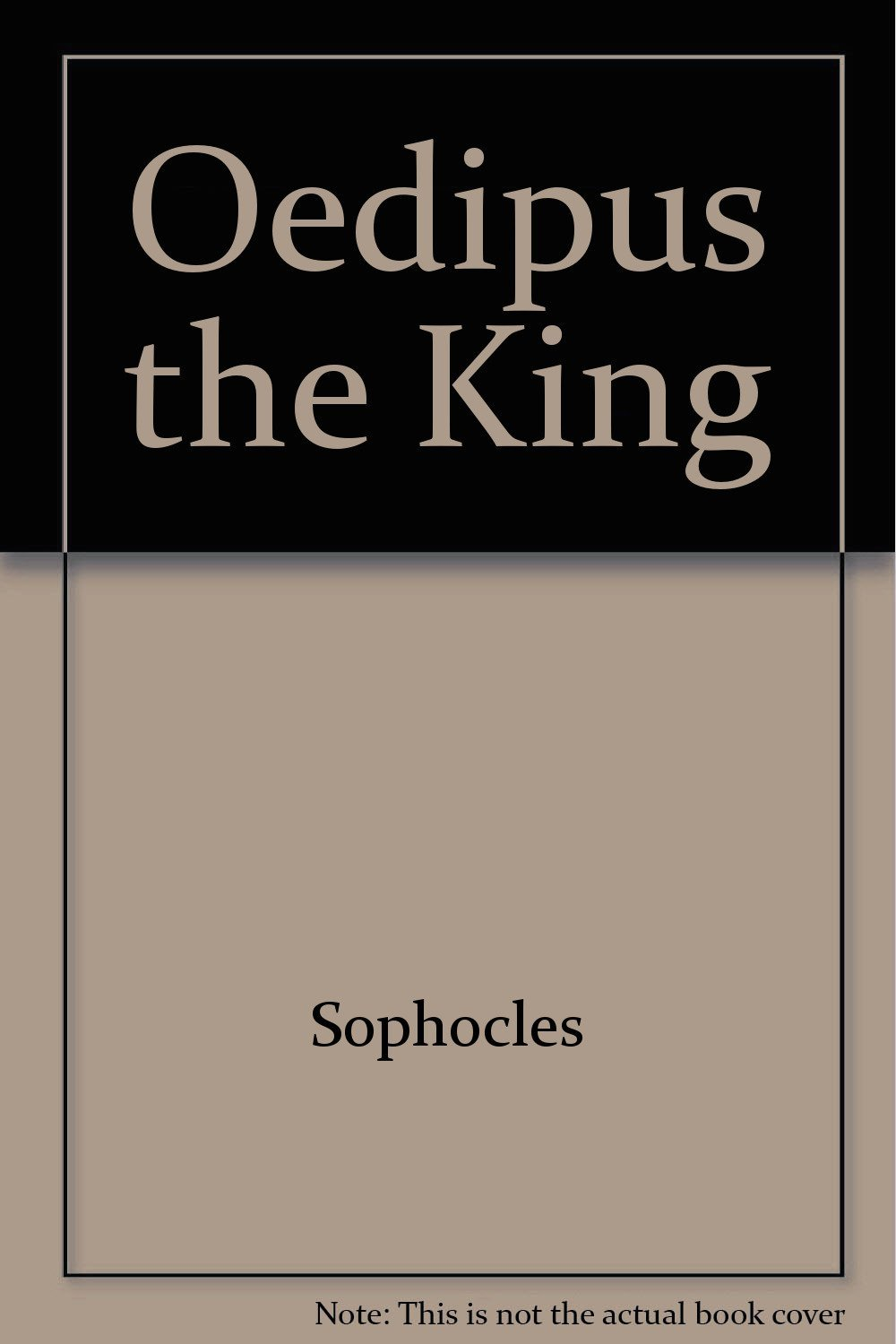 time reveals all things in oedipus the king by sophocles Oedipus the king an abridged and adapted version of sophocles' play by nick bartel, 1999 (intended for use as readers' theater in the junior - senior high school.