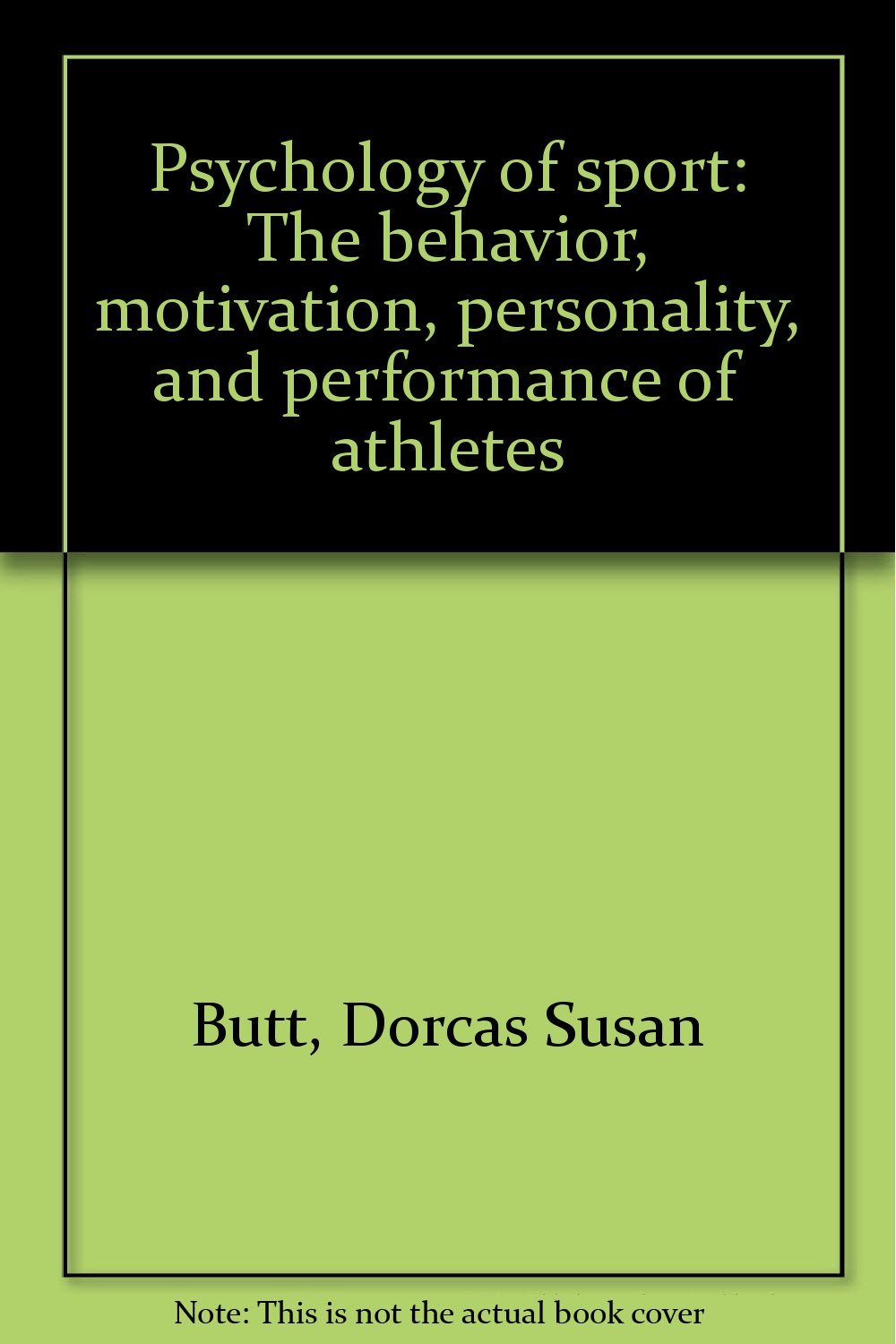 personality and motivation of sports perforance