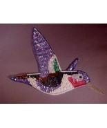 Sequin Applique Bird - $7.00