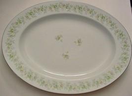 "Johann Haviland ""FOREVER SPRING"" China Floral Oval Platter 12 3/4"" Bavaria - $19.58"