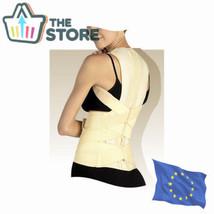 Deluxe Posture Corrector Lumbar Support Belt Round Shoulder Back Brace Scoliosis - $119.90
