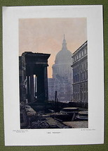 ENGLAND London St. Paul's Cathedral - 1913 Colo... - $14.36