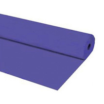 "40""x150 ft Heavy Duty Banquet Roll Plastic Table Cloth - Purple - $21.77"