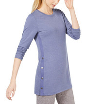 Ideology Snap-Side Tunic (Tranquility, XXL) - $34.63