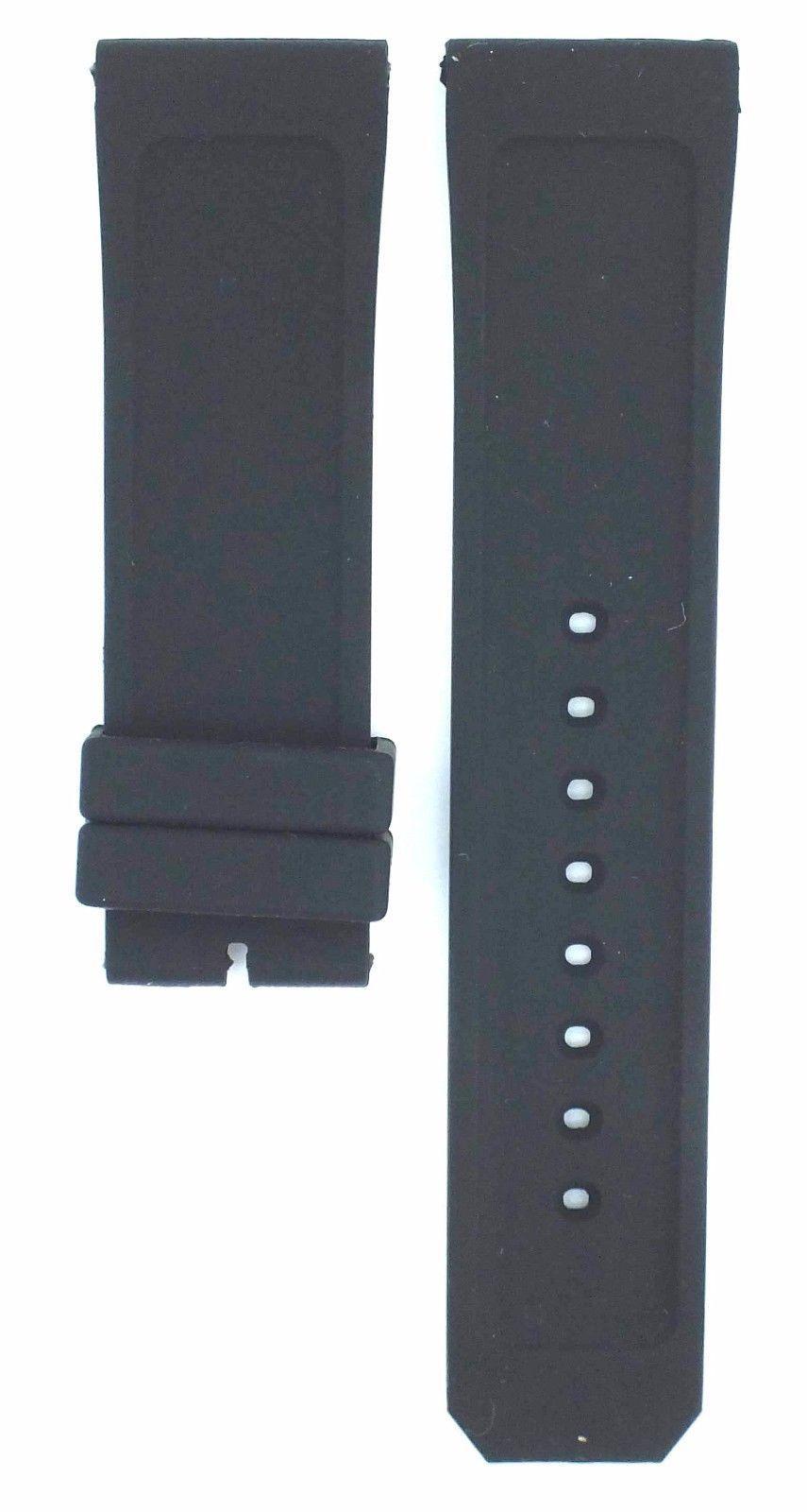 Compatible Burberry Sport BU7713 23mm Black Diver Rubber Watch Strap BRR103