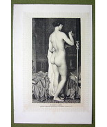 NUDE IN ART Bedtime of Psyche Evening Toilette ... - $18.32