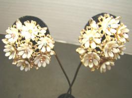 1960's vintage earrings clip on - $14.99