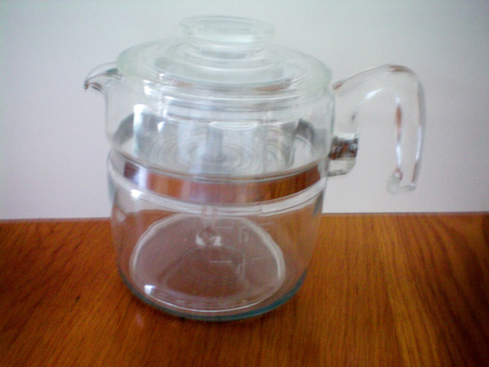 Vintage pyrex 6 cup stove top percolator coffee pot for Best coffee percolator