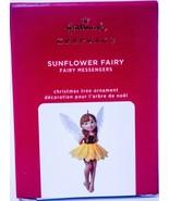 Hallmark  Sunflower Fairy - 16th Fairy Messengers  Keepsake Gift Ornamen... - $19.79