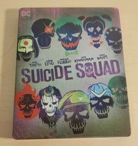 Suicide Squad Best Buy Limited Steelbook [4K Ultra HD + Blu-ray]