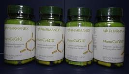 Four Pack: Nu Skin Nuskin Pharmanex NanoCoQ10 30 capsules SEALED x4 - $188.00