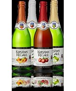 Kristian Regale Sparkling Fruit Juices 4 Packs (All American Variety Pack) - $29.39