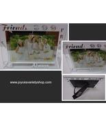 FRIENDS ALWAYS Etched Glass Photo Frame NWT 6 x 4 Photo - $13.99